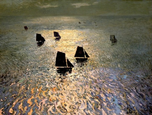 William Ritschel Boats Returning Home